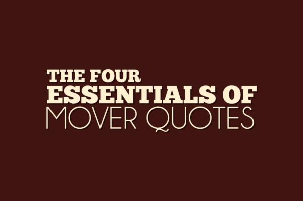 moving quote essentials