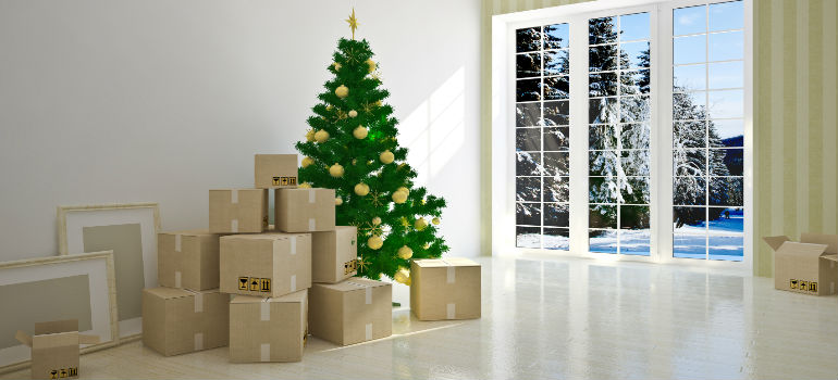 what to do when moving house over christmas