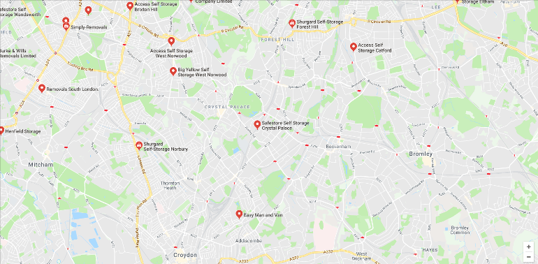Storage in South London