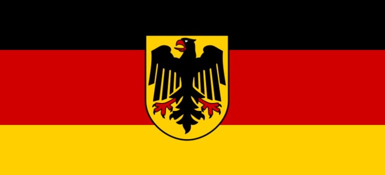 The flag of Germany