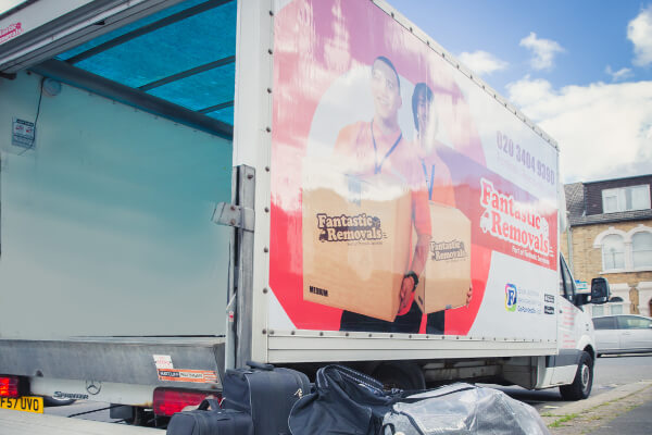 Luton van - comes at a higher removal cost per hour