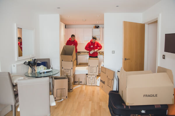 packing service that affects removal costs