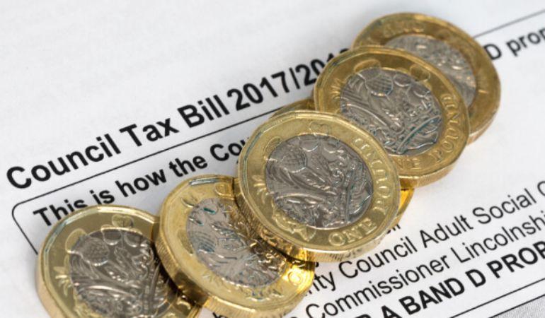 England Council Tax Band