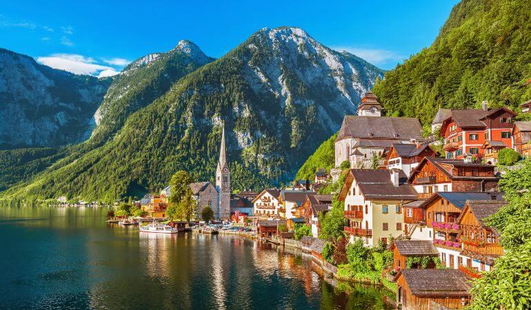 A picture of Salzburg in Austria