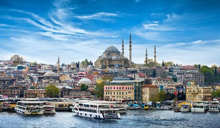 The facinating Istanbul in Turkey