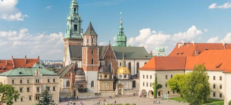 Wawel Royal Castle in Poland