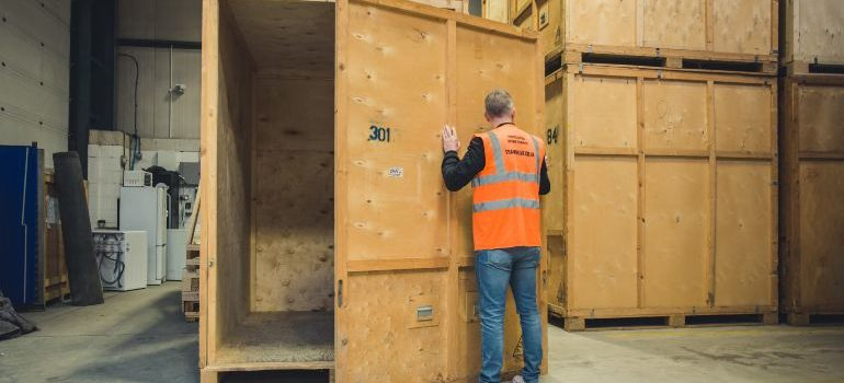 Secure storage facility in London