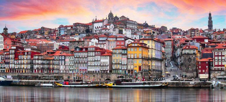 Porto, Portugal old town on the Douro River